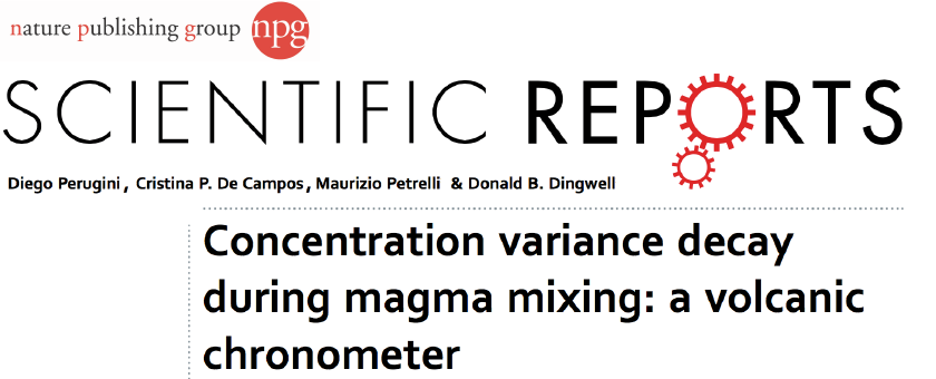 Petrology and Volcanology Research Group | University of Perugia | A new volcanic chronometer ...
