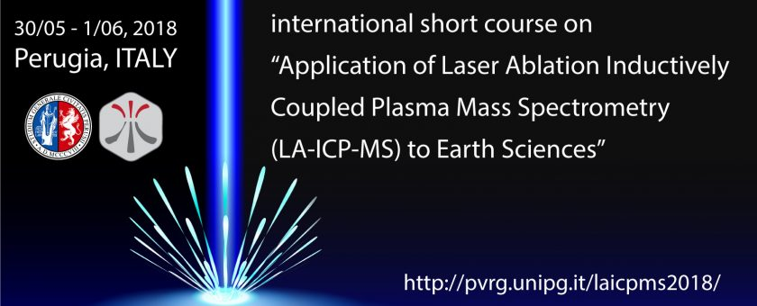 International Short Course On Application Of Laser Ablation Inductively Coupled Plasma Mass Spectrometry To Earth Sciences May 2018